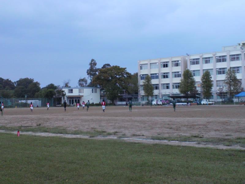 10月6日県立大宮武蔵野高校グラウンド