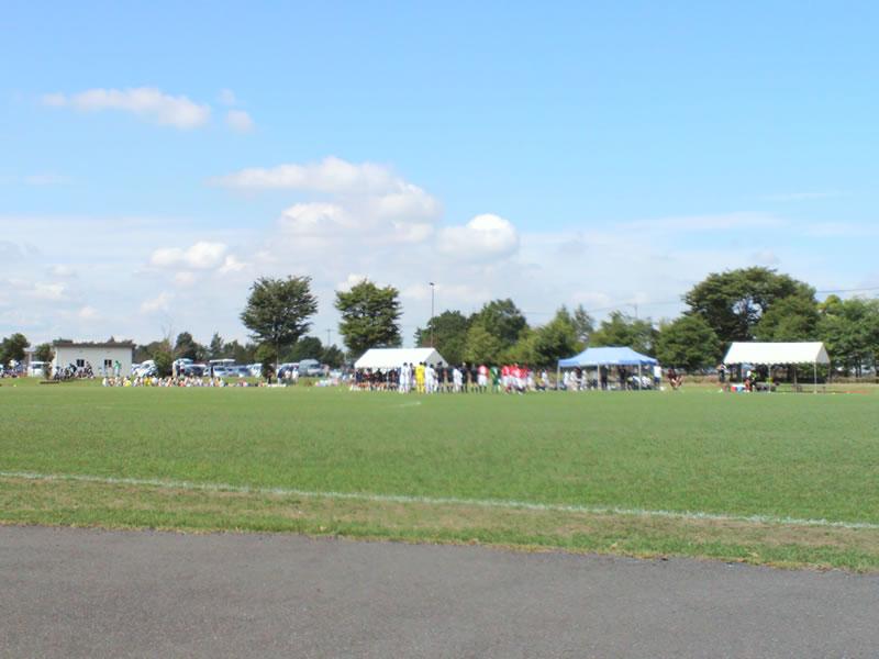 9月29日熊谷スポーツ文化公園陸上競技場 東第1多目的広場