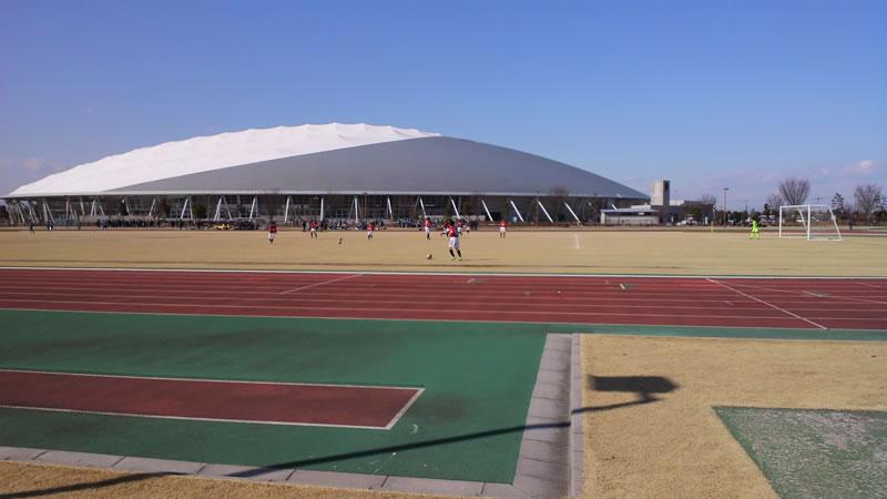 熊谷スポーツ文化公園陸上競技場補助グラウンド