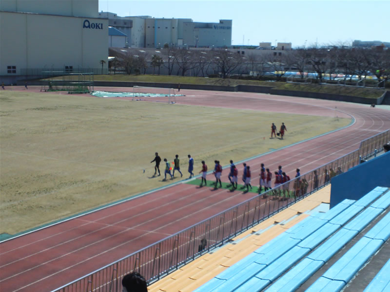 清水総合運動場2012年3月26日