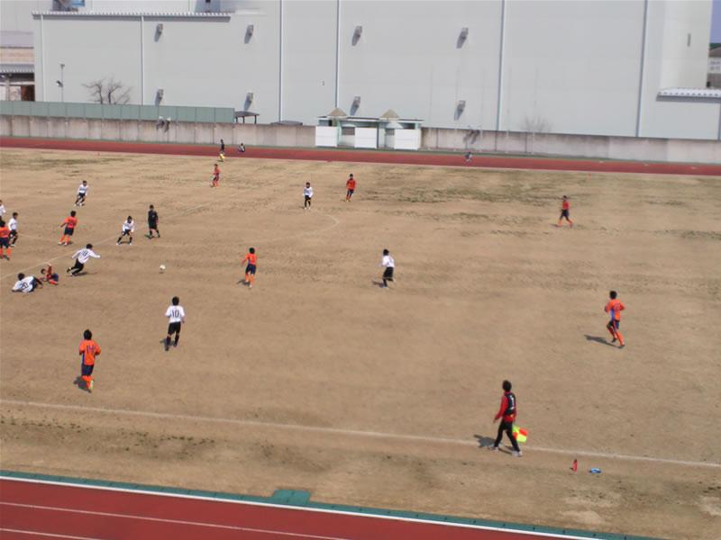 清水総合運動場2012年3月28日