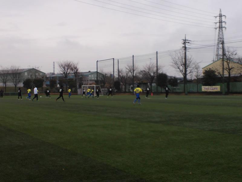 西武台高校第2グラウンド2012年2月25日