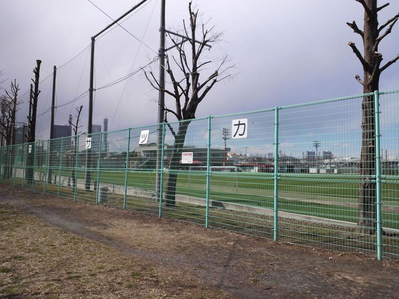 大原サッカー場2012年3月25日