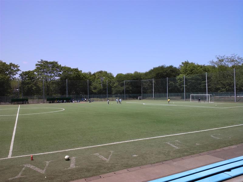立正大学熊谷キャンパスサッカーグラウンド2012年5月5日