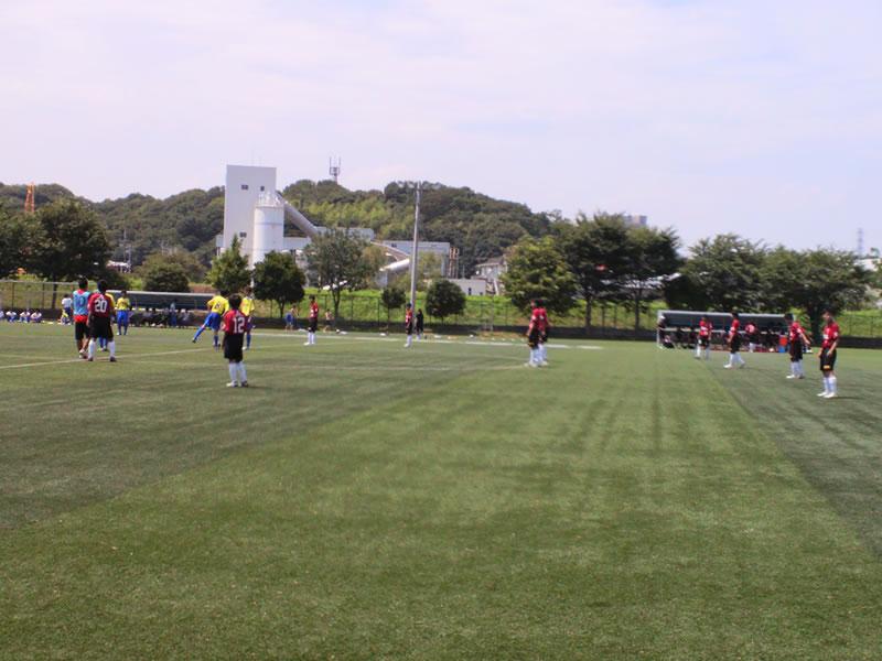 西武台高校第2グラウンド2012年7月14日