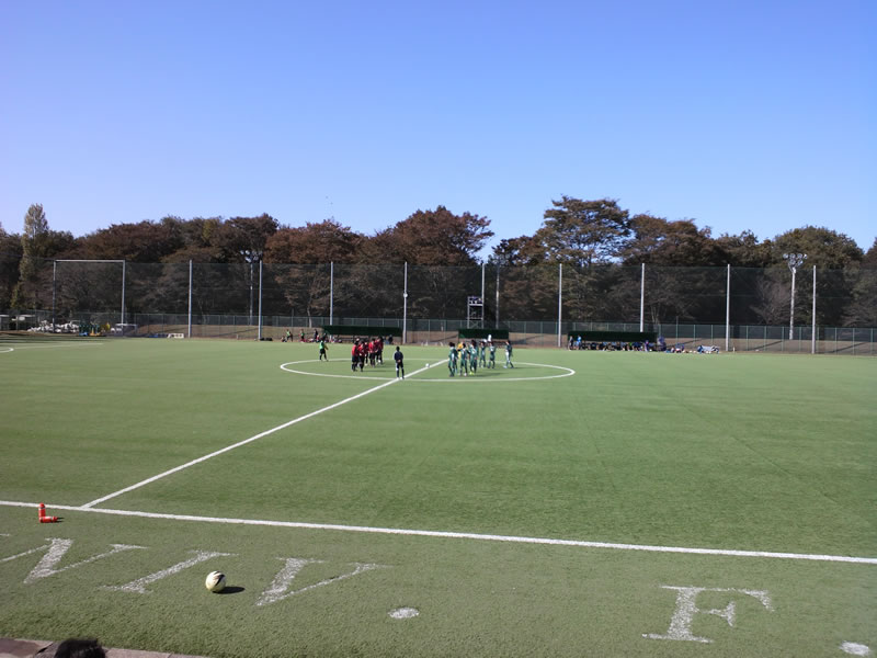 立正大学熊谷キャンパスサッカーグラウンド2012年11月3日