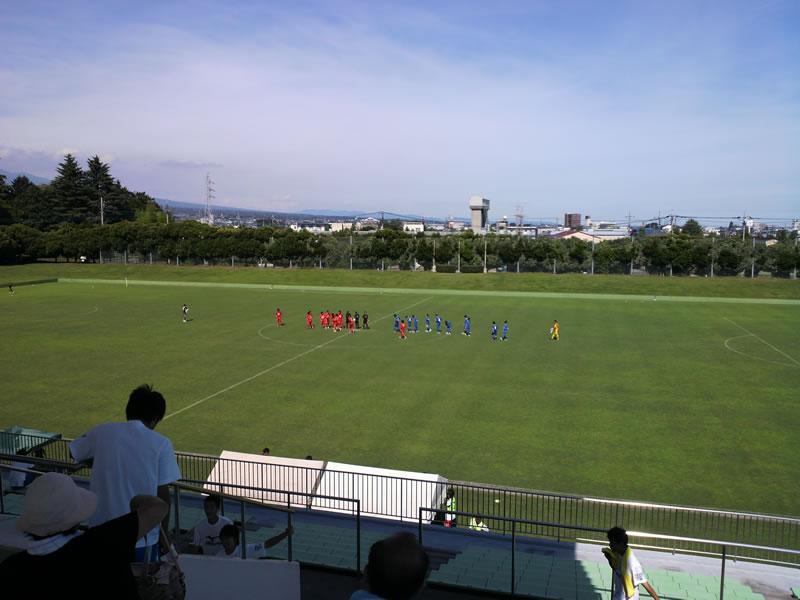 群馬県立敷島公園 サッカー・ラグビー場2012年7月16日