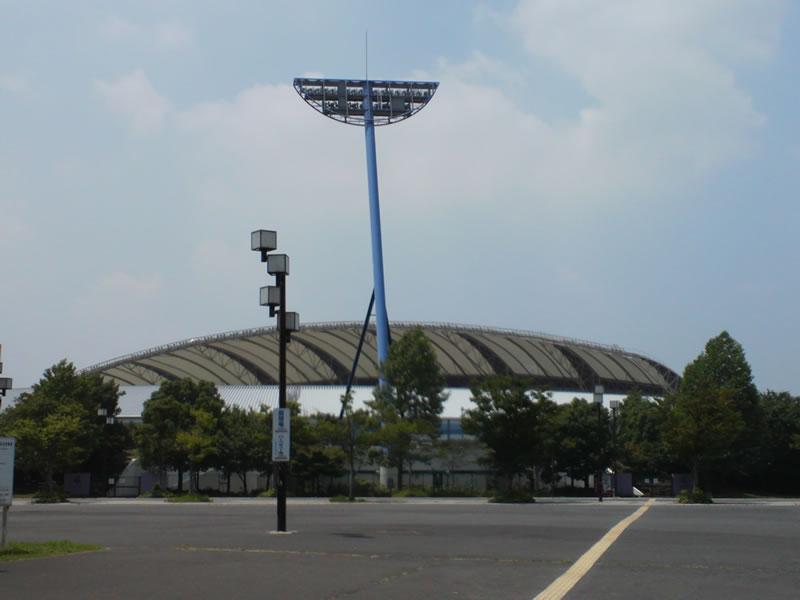 柏の葉公園総合競技場2012年7月26日