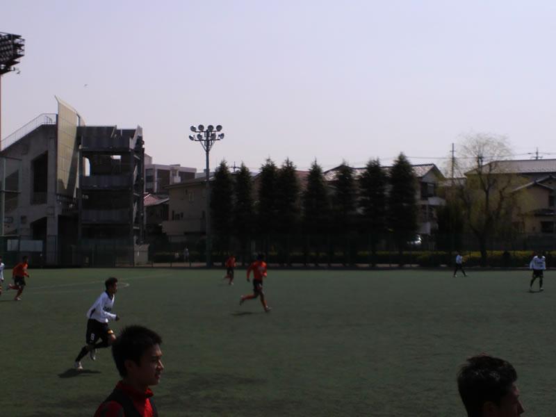 さいたま市浦和駒場スタジアム(サブグラウンド)2012年4月2日