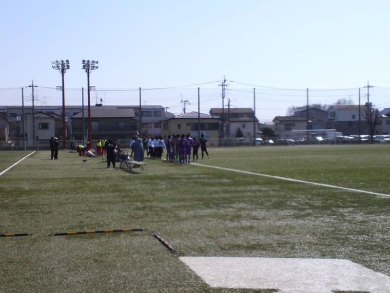 与野八王子グラウンド2012年4月4日
