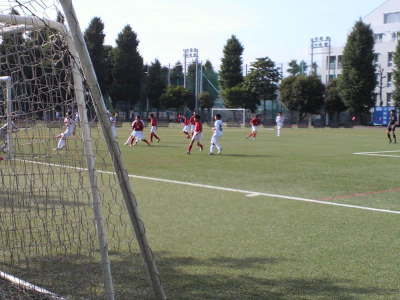 三菱養和会巣鴨スポーツセンターグラウンド2012年7月8日