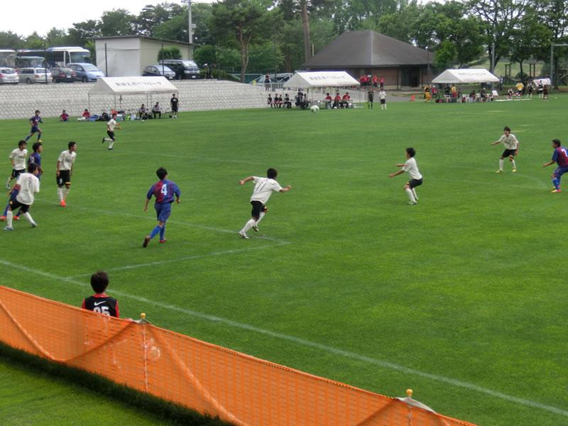 那須スポーツパークあかまつグラウンド 2013年6月23日