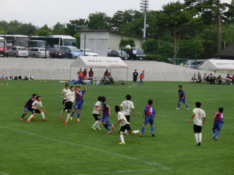 那須スポーツパーク あかまつグラウンド2013年6月23日
