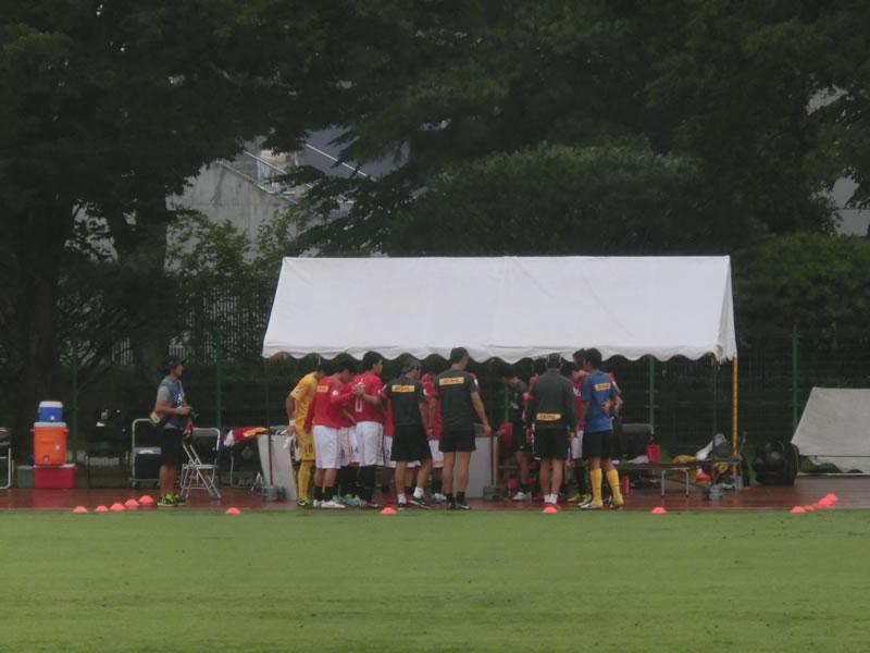 群馬県立敷島公園補助陸上競技場2013年7月25日
