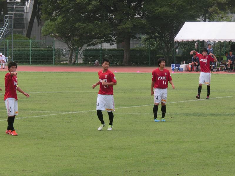 群馬県立敷島公園補助陸上競技場2013年7月26日