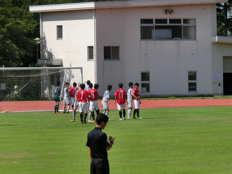 群馬県立敷島公園補助陸上競技場2013年7月28日