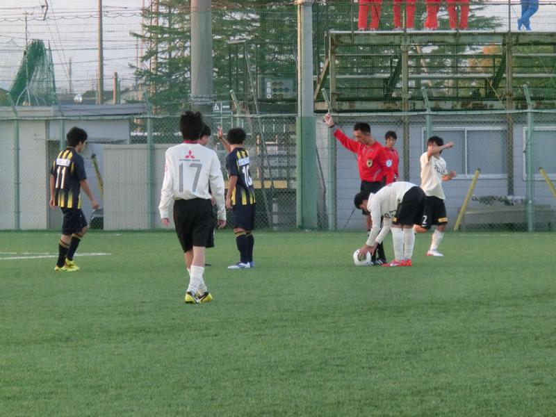 関東学園大学サッカー場2013年10月26日