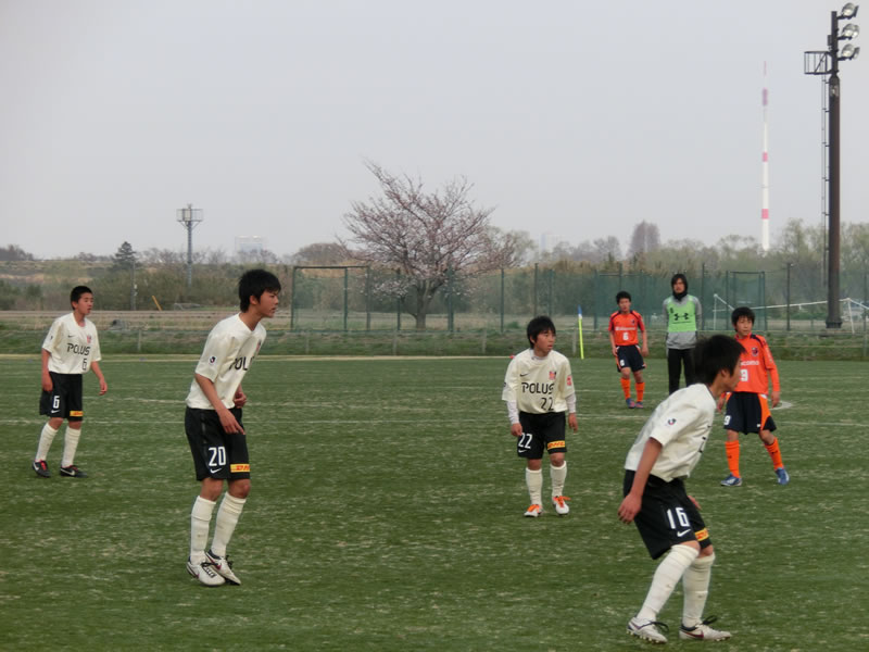 NTT東日本志木総合グラウンド2013年3月24日