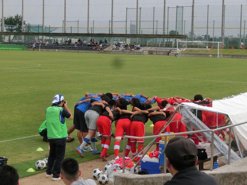 朝日サッカー場2013年9月30日