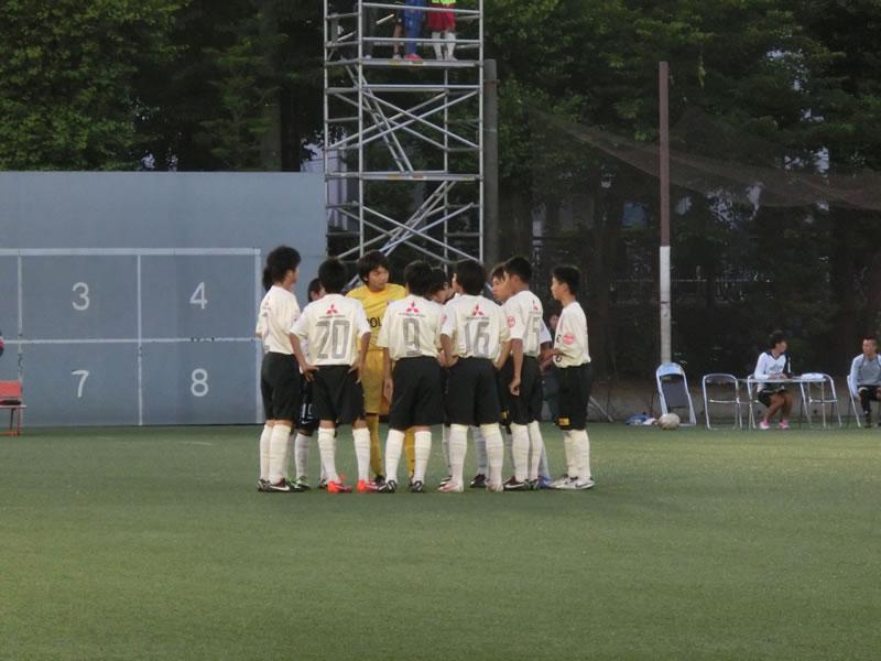 横河電機武蔵野グラウンド2013年6月8日