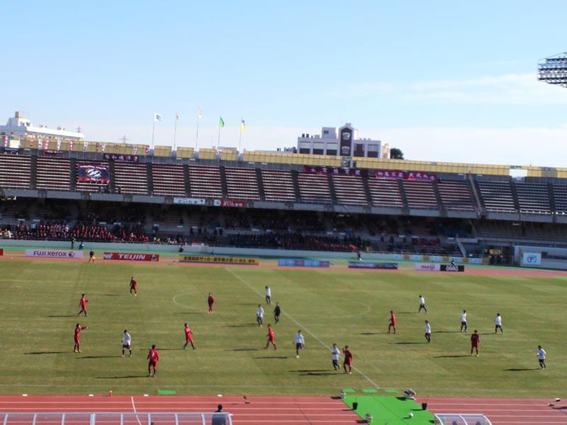 さいたま市浦和駒場スタジアム2013年1月3日