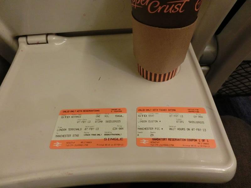 英国鉄道2等車2013年2月7日