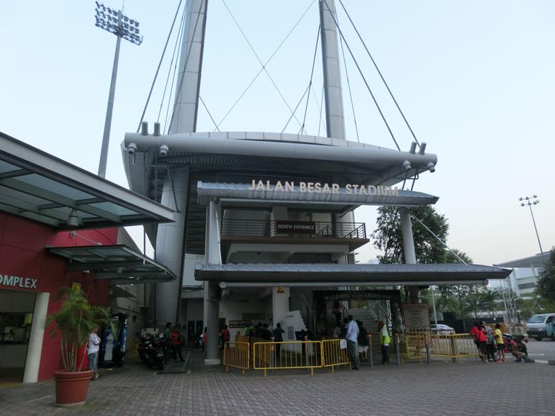 シンガポール/ジャラン・ベサール・スタジアム2013年6月25-26日