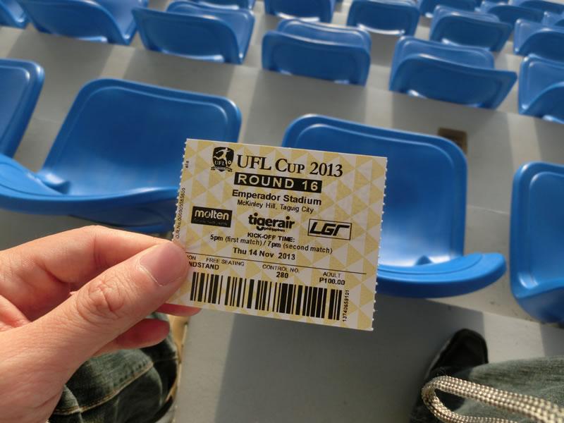エンペラドールスタジアム・マニラ・フィリピン/2013年11月14日