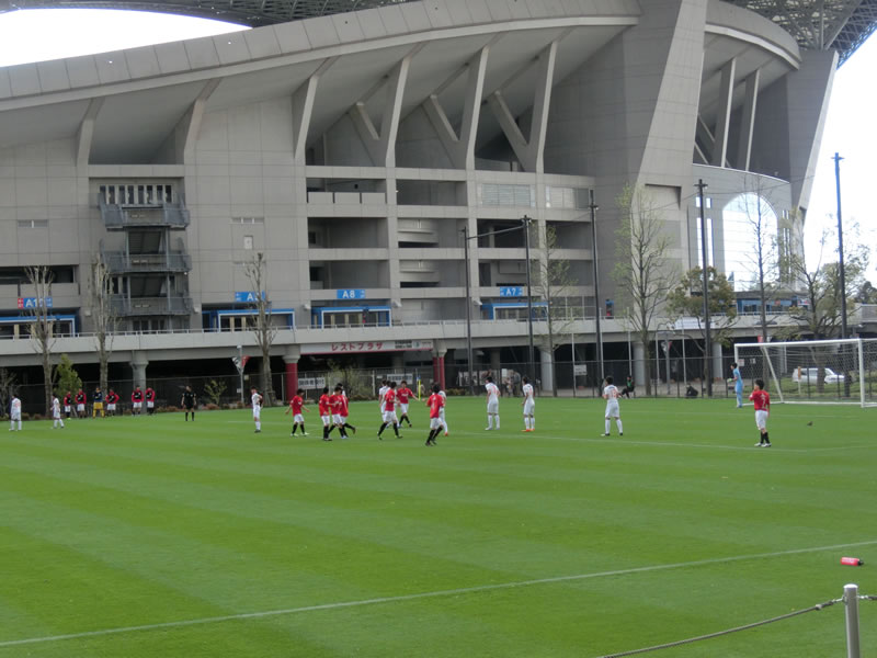 埼玉スタジアム2002 第3グラウンド2013年4月7日