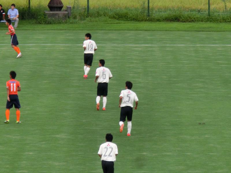 NTT東日本志木グラウンド2013年8月24日
