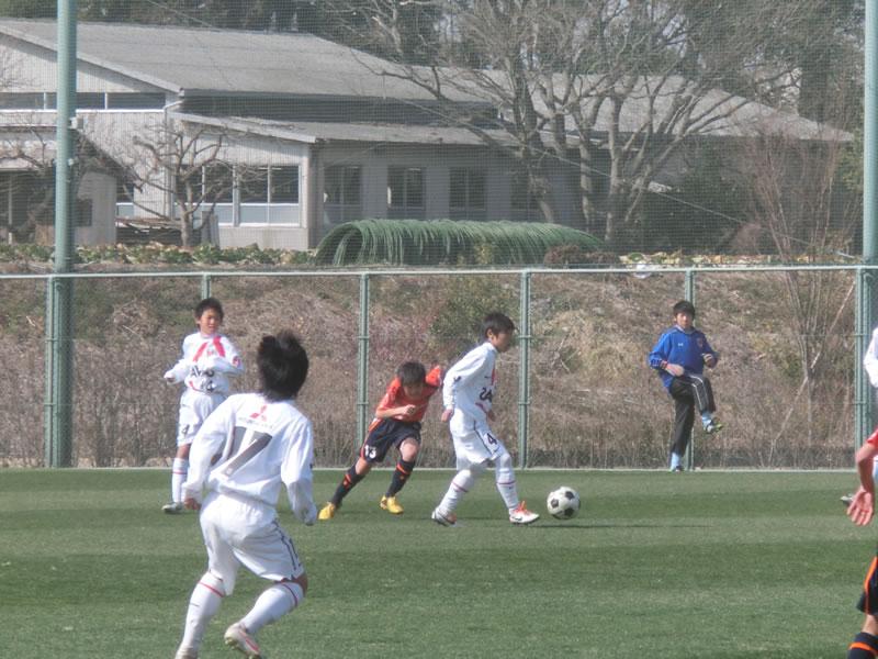 秋葉の森総合公園サッカー場  2013年3月2日