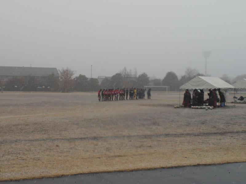 熊谷スポーツ文化公園東多目的広場2013年1月14日