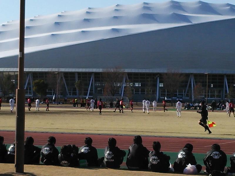 熊谷スポーツ文化公園補助競技場2013年1月19日