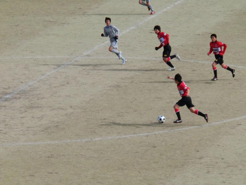 熊谷スポーツ文化公園陸上競技場2013年1月26日