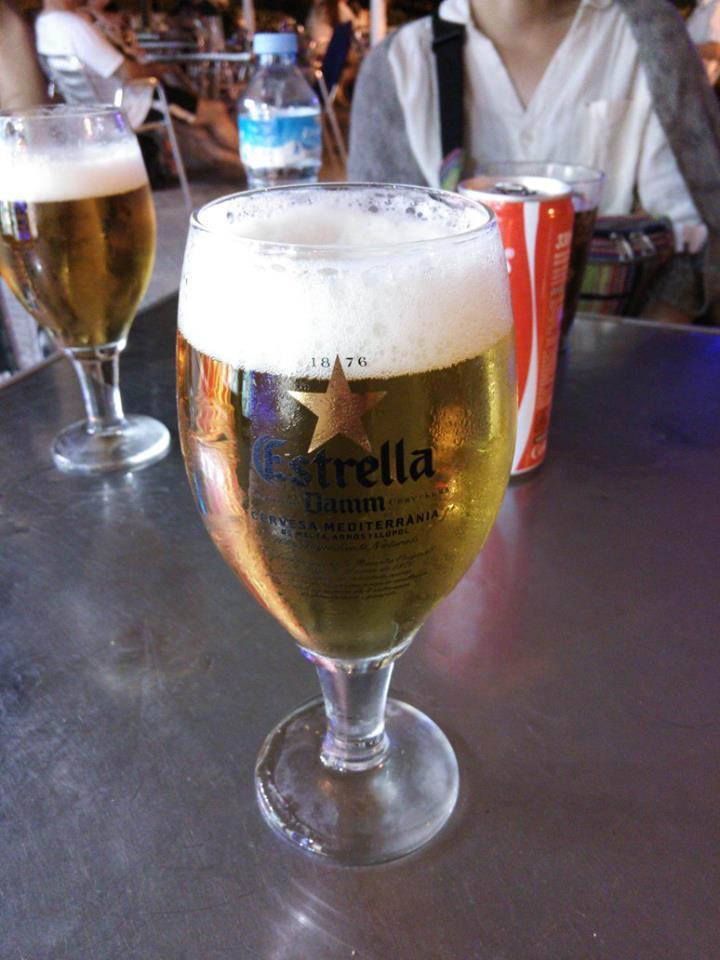 スペインの有名なビールのメーカーでもあるDAMM/2013年8月29日