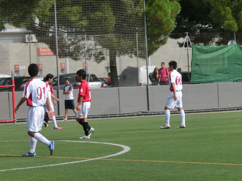 Club Natacio Terrassaグラウンド/2013年8月30日