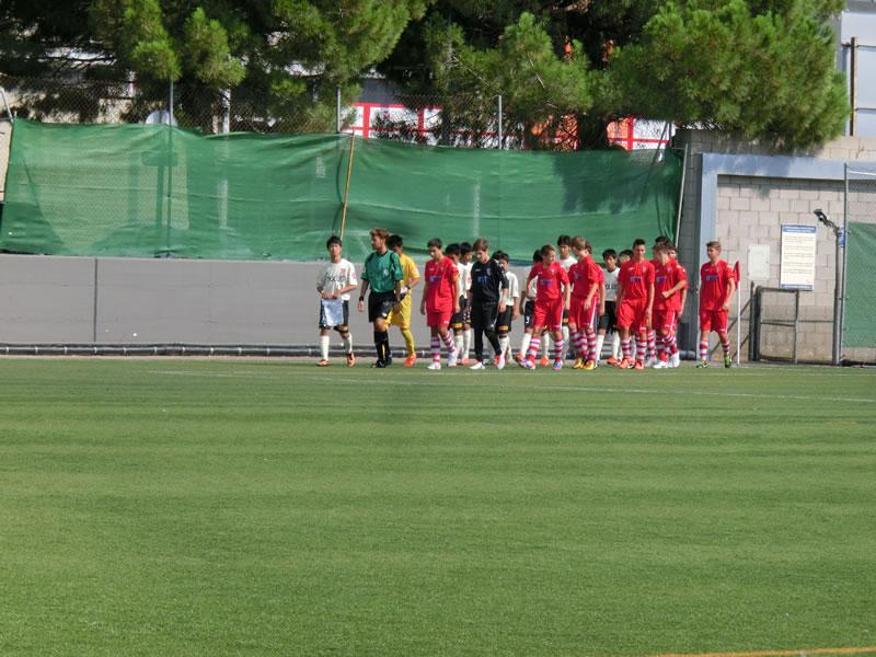 Club Natacio Terrassaグラウンド/2013年8月31日