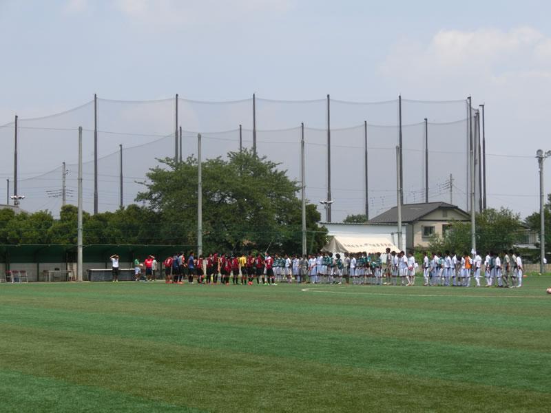 高崎経済大学付属高校 第2グラウンド2013年7月27日