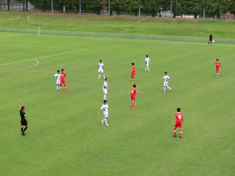 群馬県立敷島公園サッカー・ラグビー場(天然芝)2013年7月15日