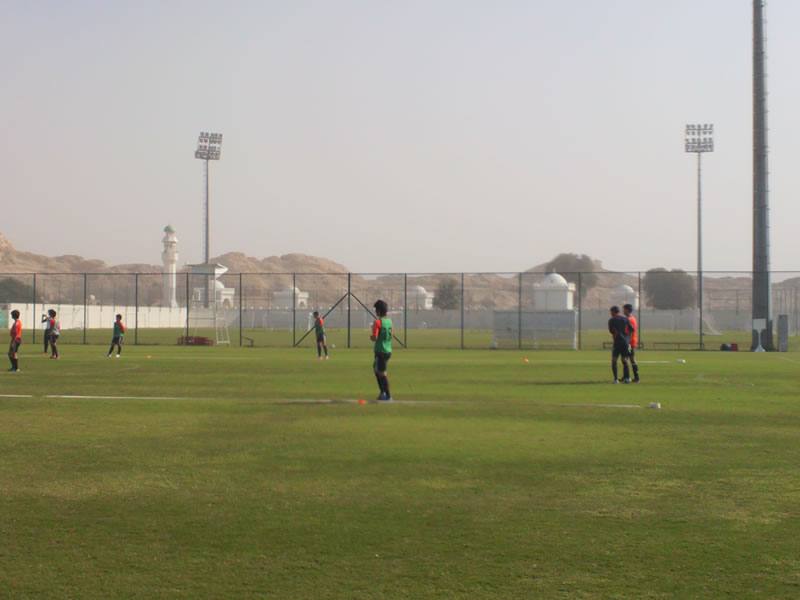 2013年1月UAE(アルアイン遠征)