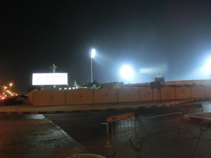 シャルジャスタジアム2013年10月22日