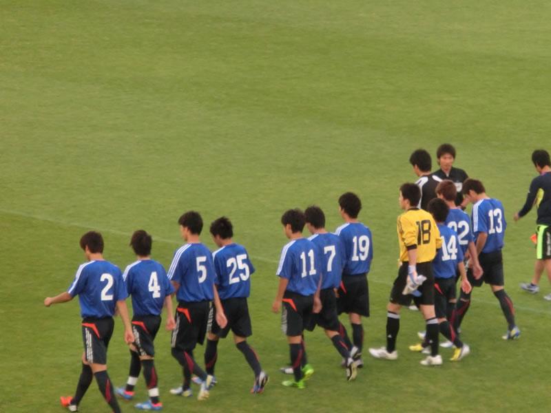 習志野市秋津総合運動公園サッカー場2013年6月10日