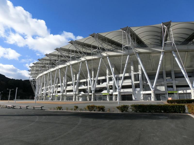 エコパスタジアム(補助競技場)2013年12月21日