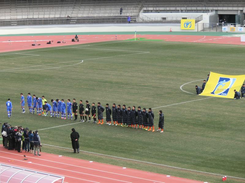 さいたま市浦和駒場スタジアム2014年1月3日