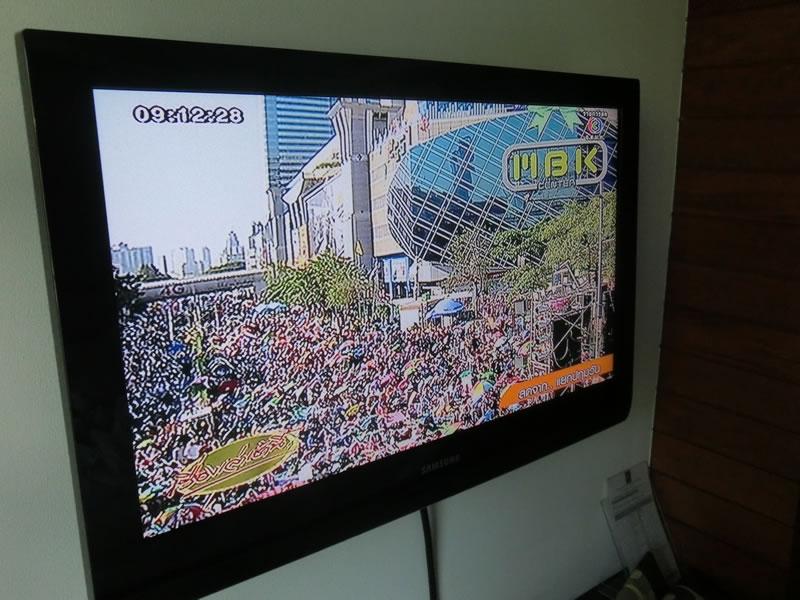 タイのデモの模様2014年1月13日