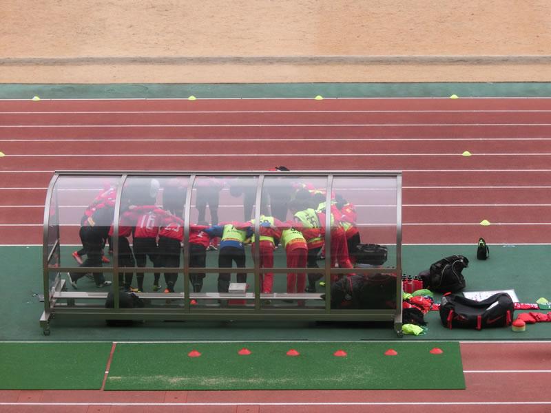 熊谷スポーツ文化公園陸上競技場2014年1月25日