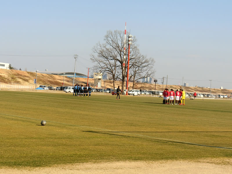 練習試合2019/3/2 浦和レッズユースvs川崎フロンターレU-18 0-2敗戦・・・まだ、前のめりには見ませんw