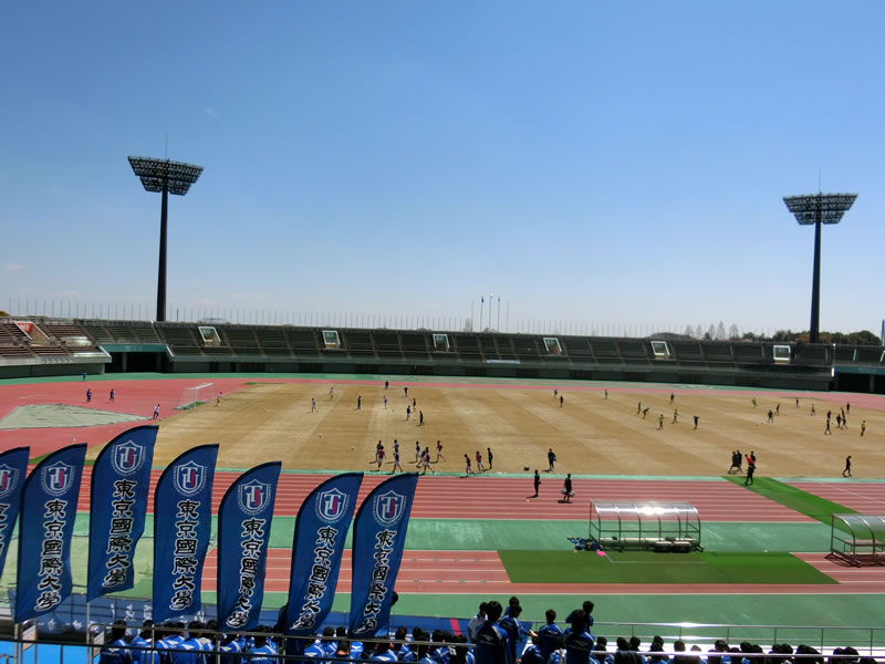アカデミー卒業生関連 2019/04/13 – 大学サッカー 東京国際大学vs東京学芸大学、駒澤大学vs立正大学を観戦してきました。