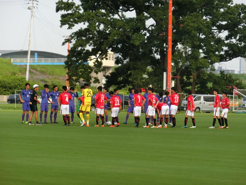 練習試合2019/08/17 浦和レッズユースvs立教大学 1-0勝利+0-0・・・プレミアへ向けての融合と課題
