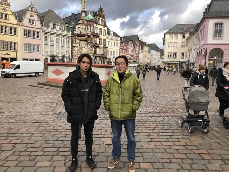 アカデミー卒業生関連2020/02/10-13 ルクセンブルクでプレーする清川大輝に会ってきました。